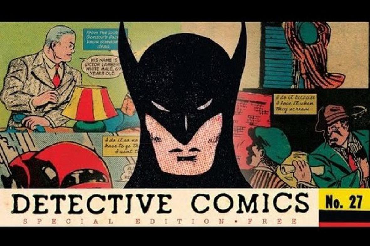 První vydání Batmana