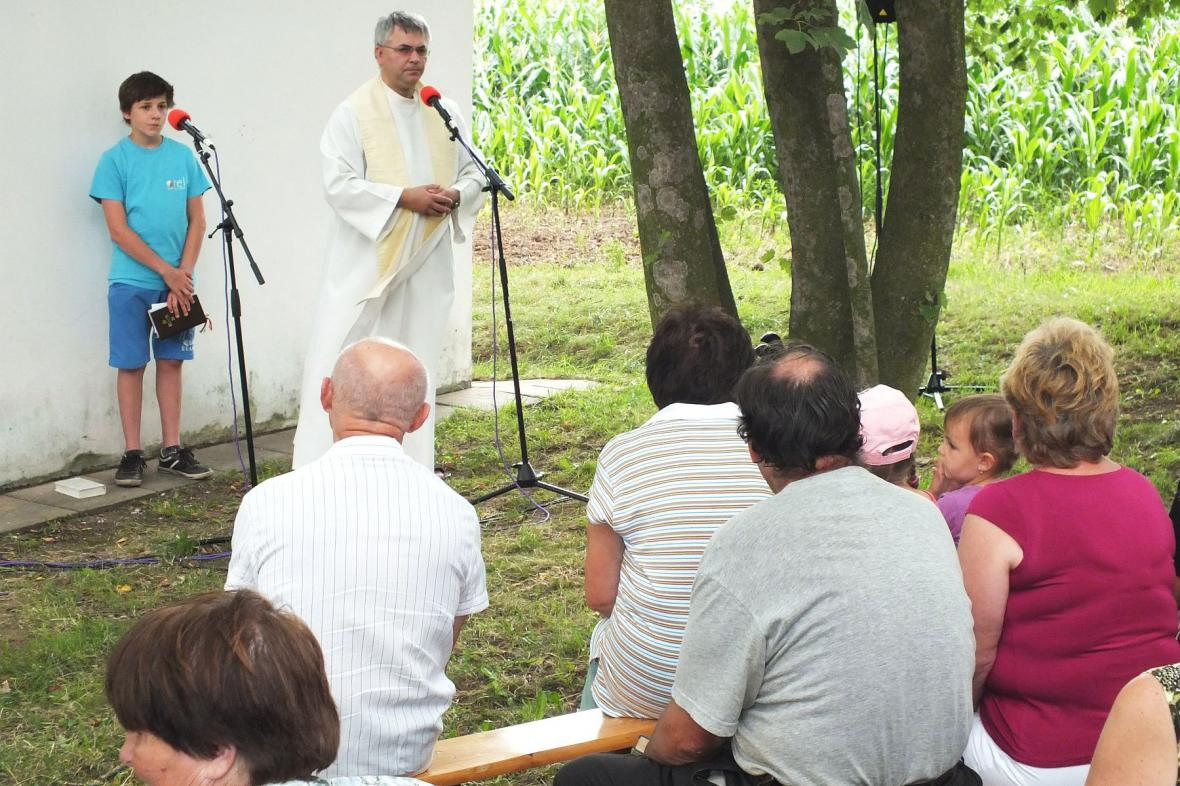 Pouť ke kapli svaté Otýlie u Boskovic