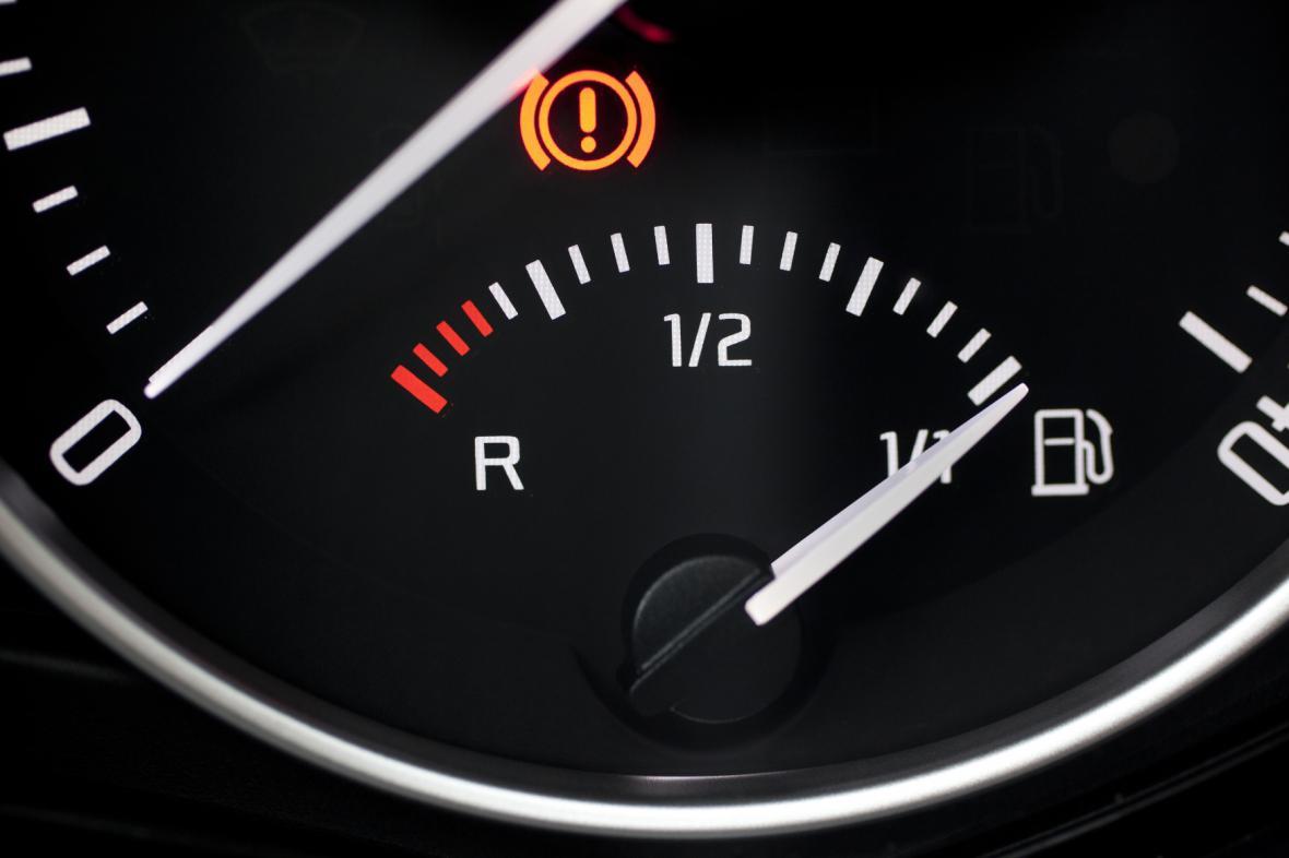 Stav palivové nádrže