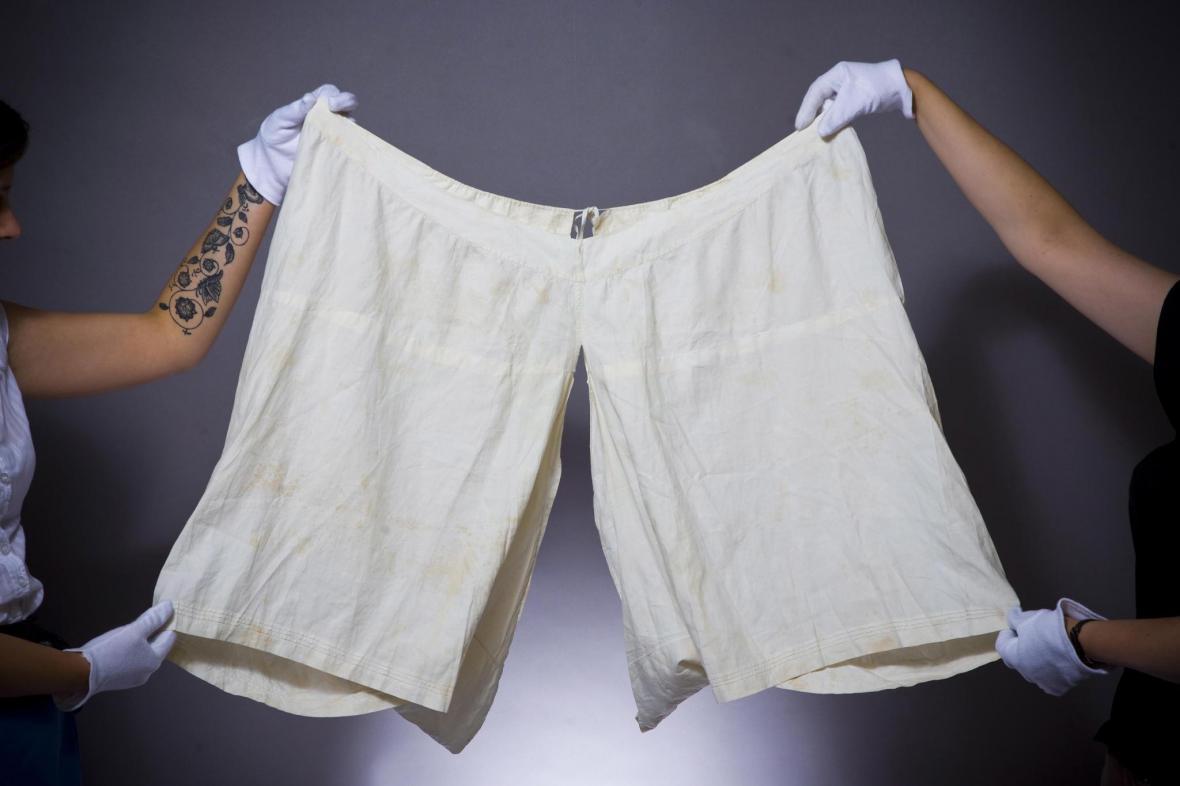 Spodní prádlo královny Viktorie