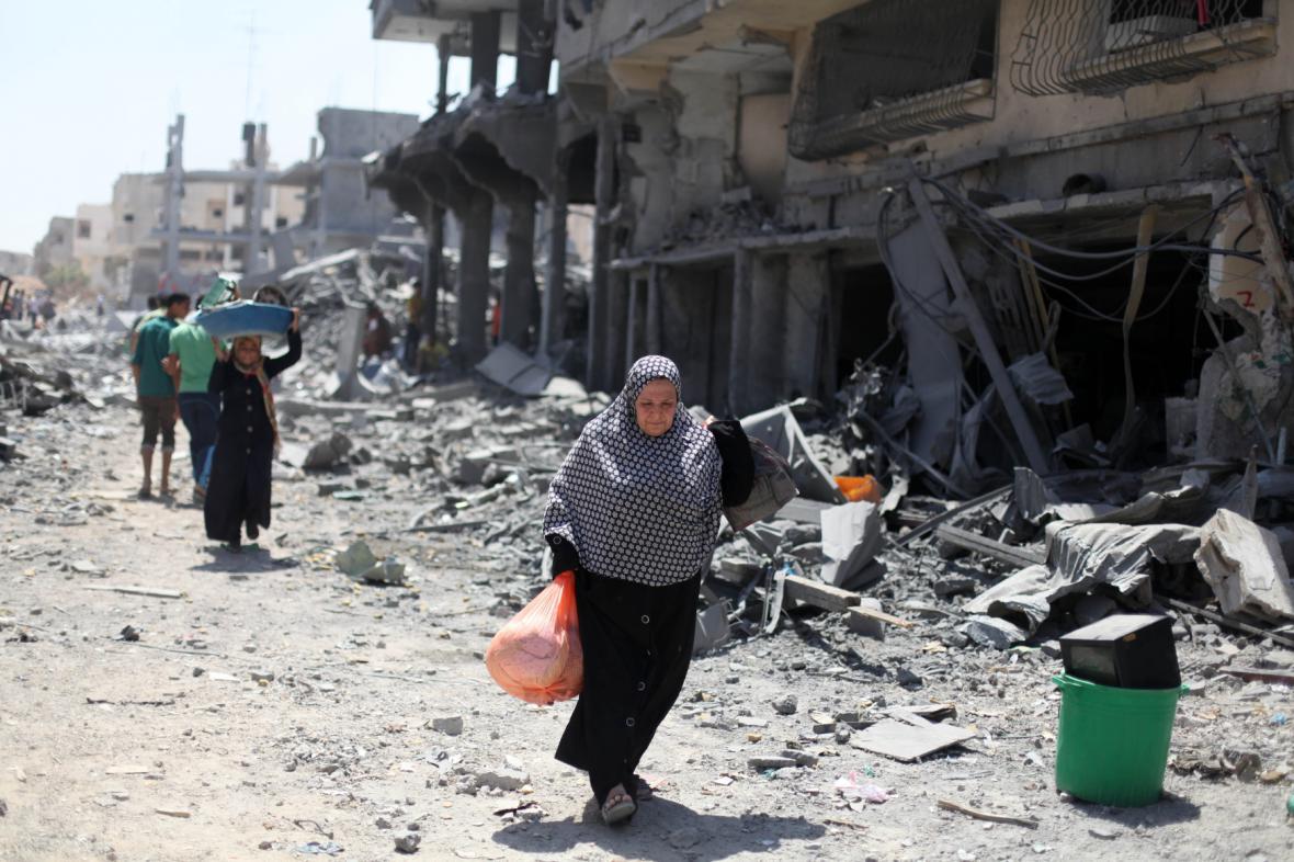 Bombardování Gazy