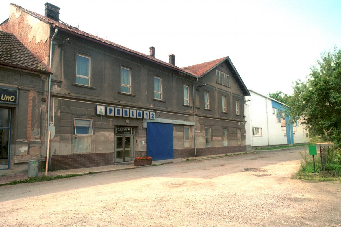 Budova bývalé textilky Perla v Ústí nad Orlicí