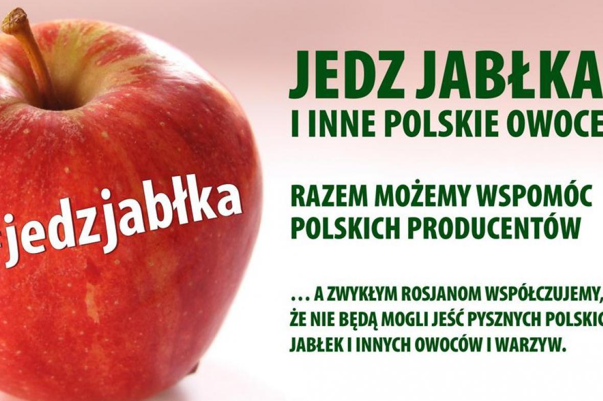Kampaň za konzumaci jablek podpořila i polská vládní strana Občanská platforma