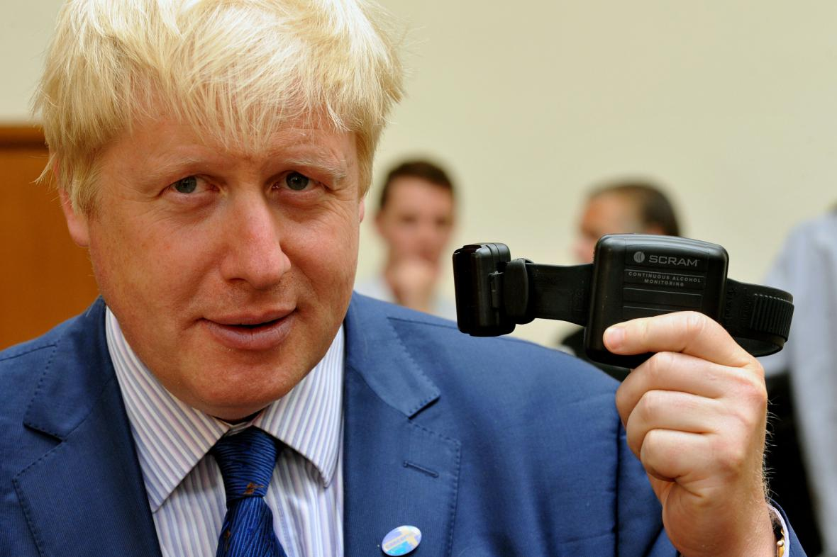 Starosta Londýna Boris Johnson