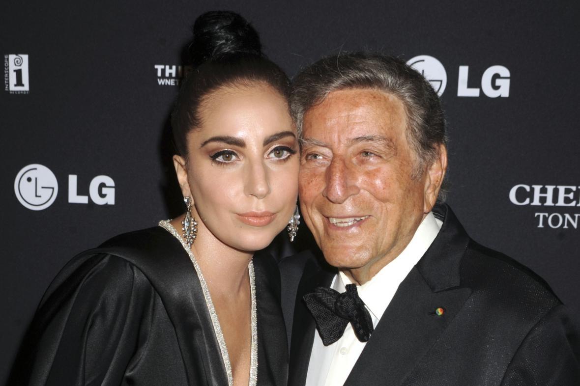 Lady Gaga a Tony Bennett