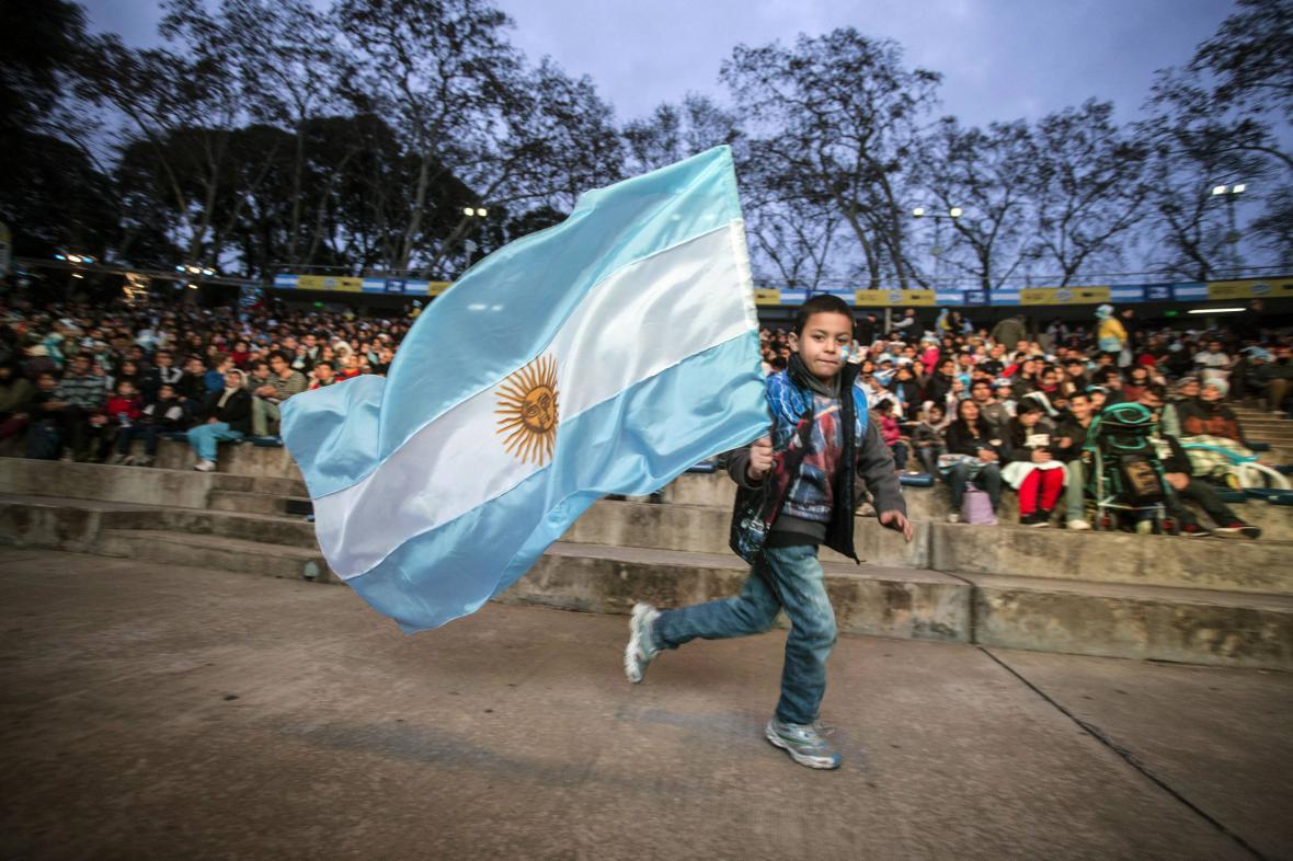 Argentinská vlajka