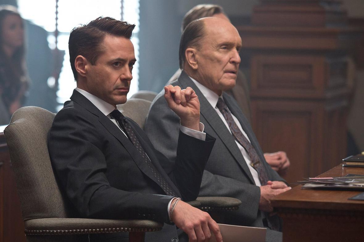 Robert Downey v roli právníka ve filmu Soudce
