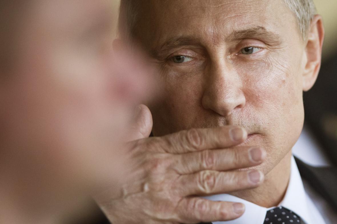 Vladimir Putin na návštěvě Brazílie