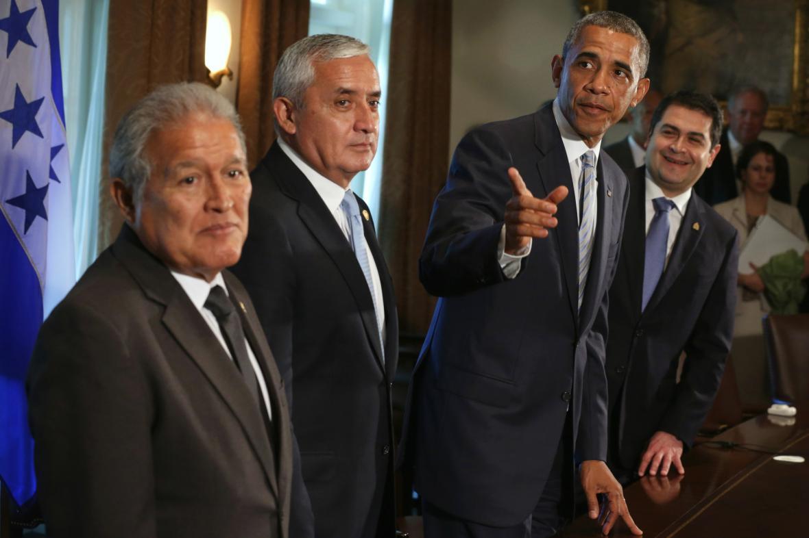 Obama se setkal s jihoamerickými prezidenty