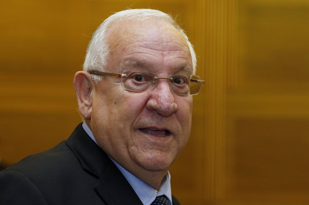 Reuven Rivlin se stal novým prezidentem Izraele
