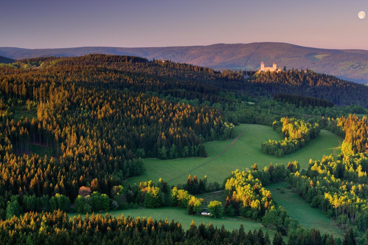 Šumava - hrad Kašperk