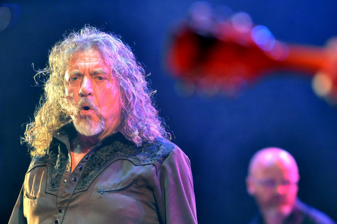 Robert Plant na Colours of Ostrava