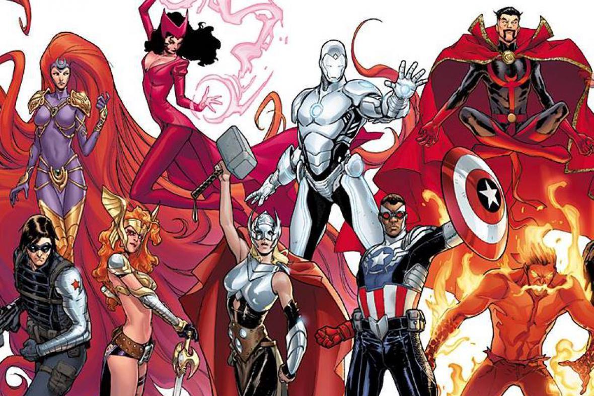 Noví komiksoví hrdinové Marvelu