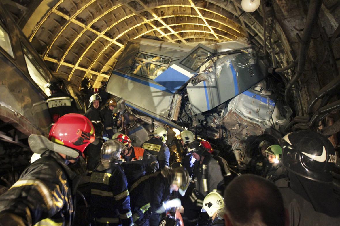 Neštěstí v moskevském metru