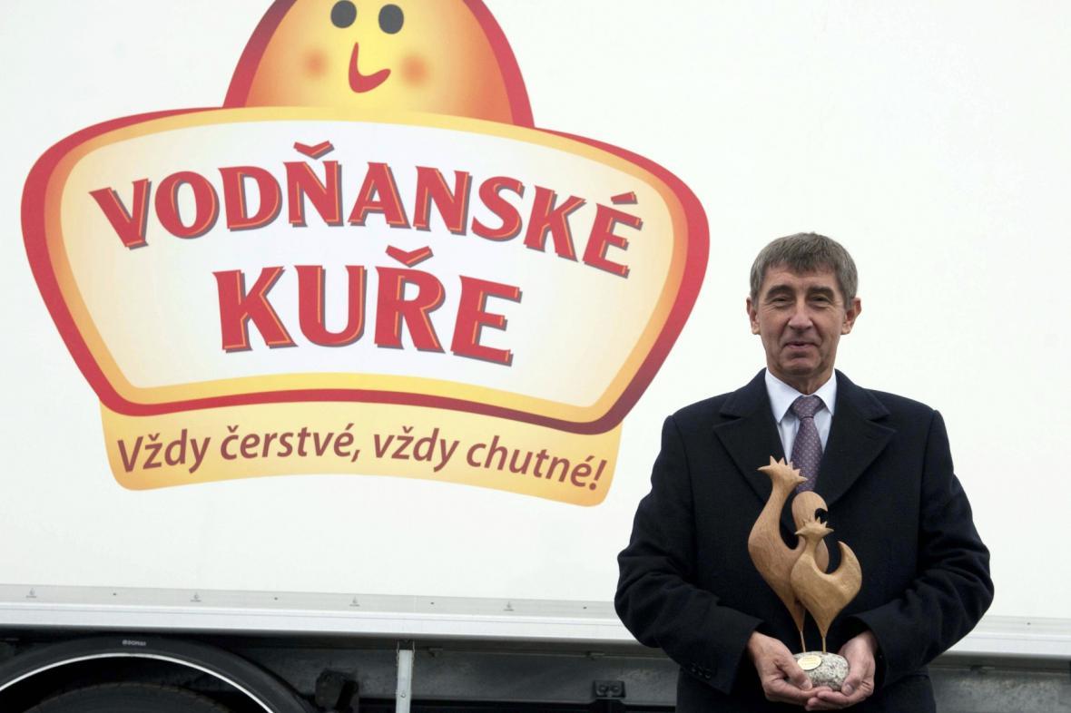 Andrej Babiš a Vodňanské kuře