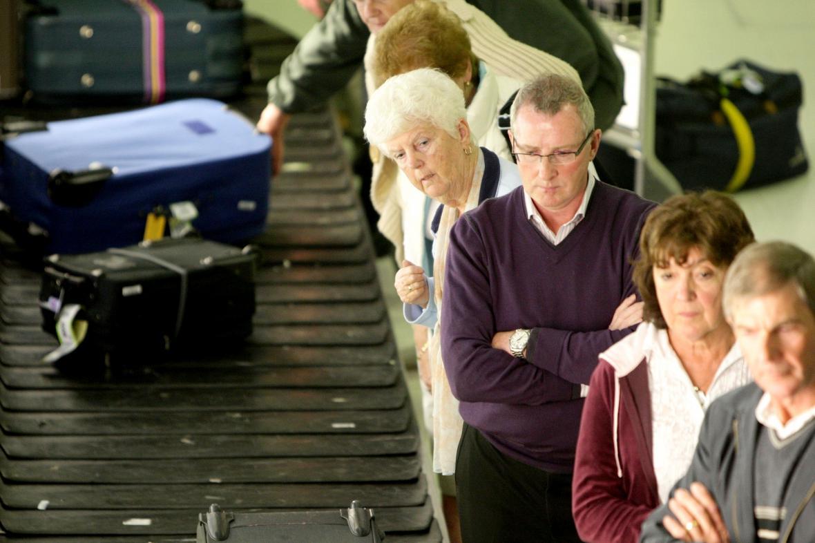 Čekání na zavazadla