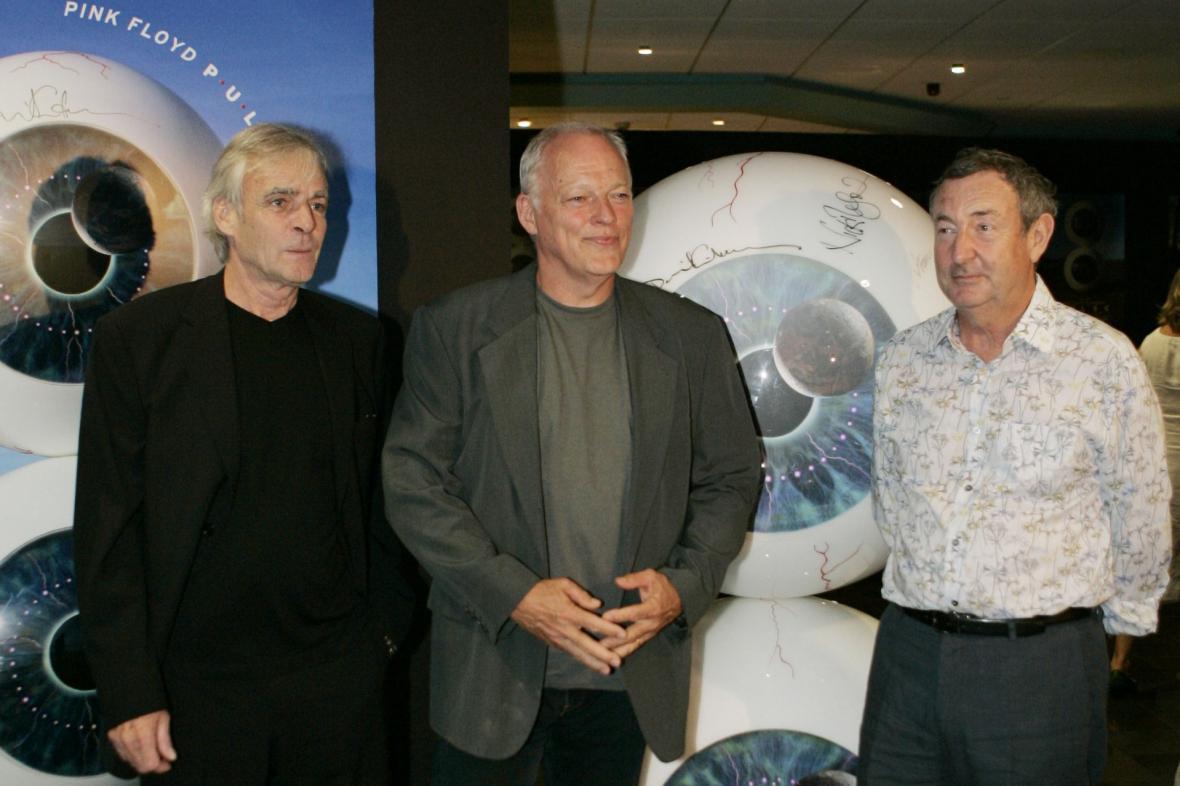 Rick Wright, David Gilmour a Nick Mason