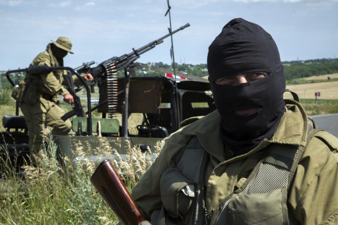 Ukrajinští separatisté
