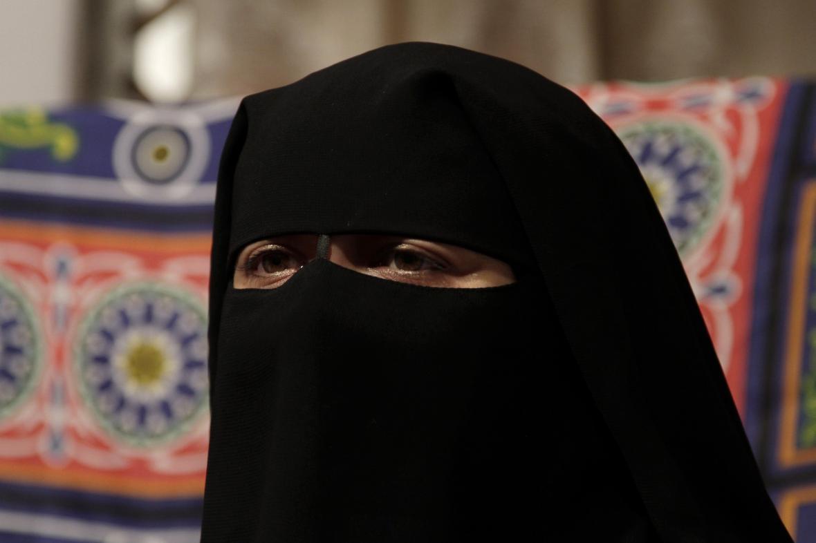 Zahalená muslimka