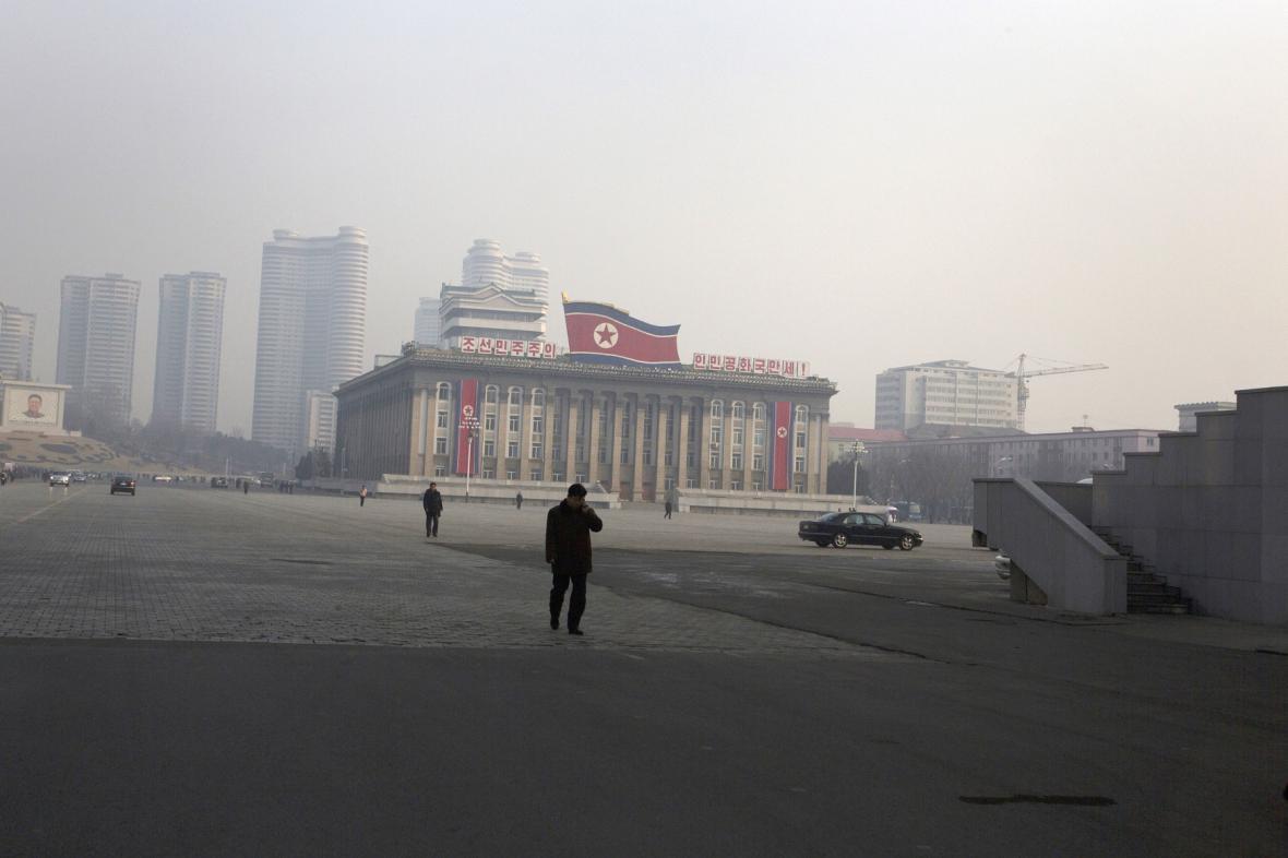 Pchjongjang - ilustrační foto