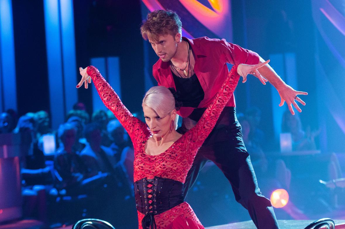 Tango Anny Polívkové a Michala Kurtiše
