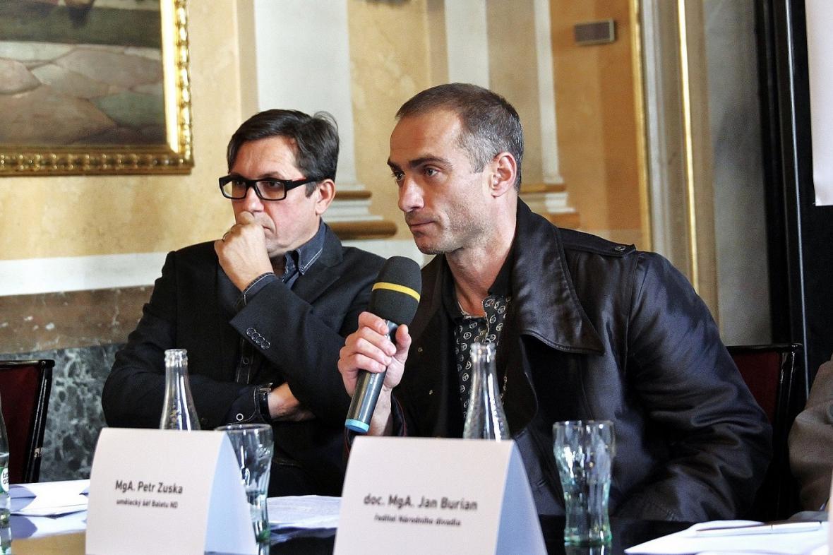 Michal Dočekal a Petr Zuska