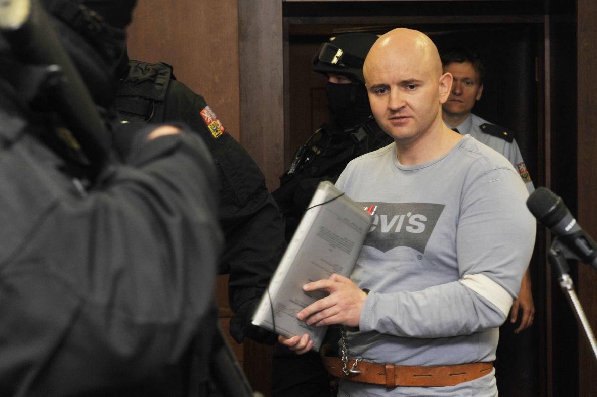 Miroslav Maslák před soudem