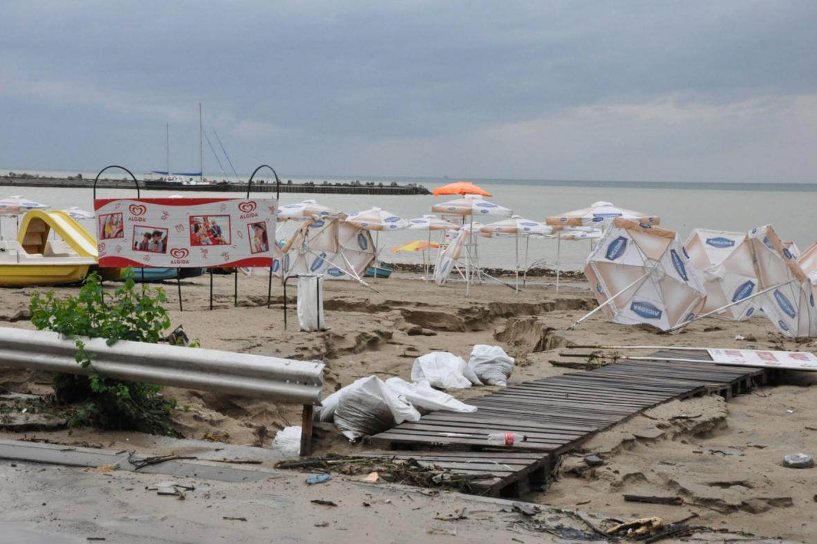 Pláž u Varny