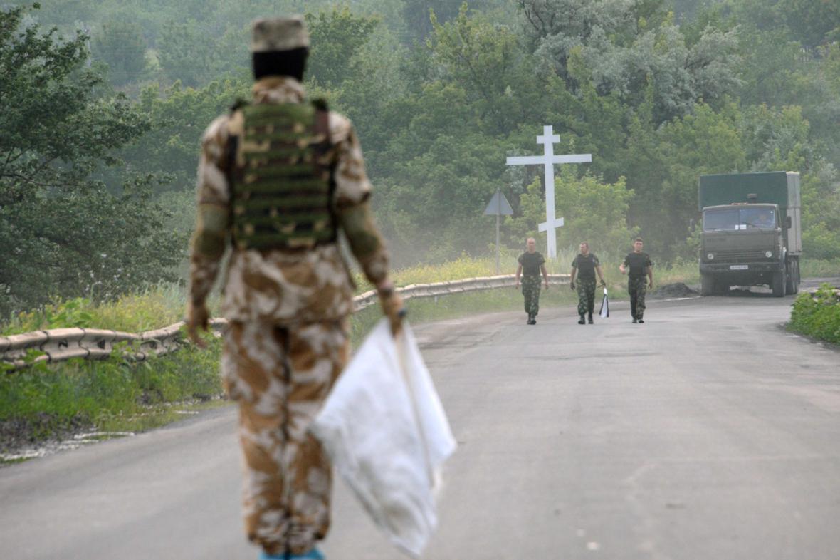Na Ukrajině platí jednostranné příměří