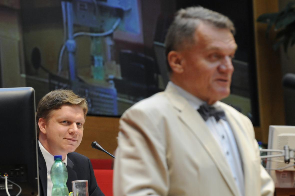 Tomáš Hudeček vystřídal Bohuslava Svobodu