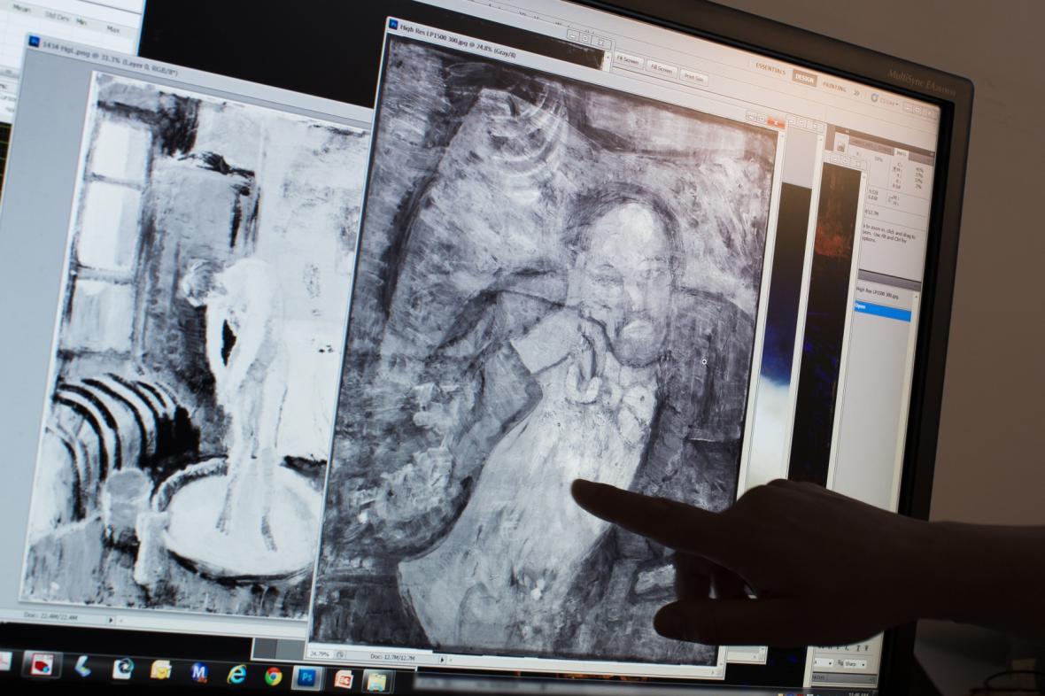 Picassův obraz odhalil neznámý obličej