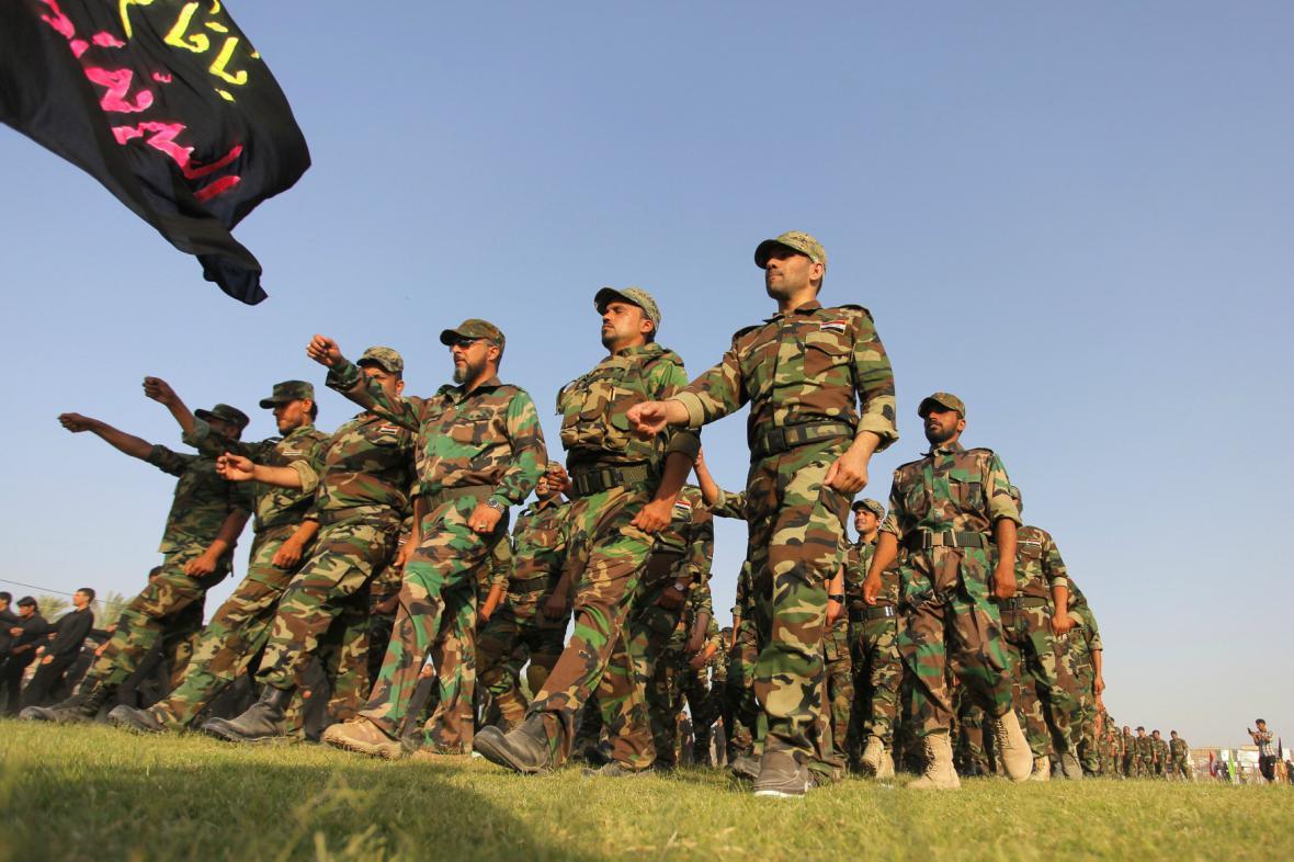 Jednotka iráckých dobrovolníků