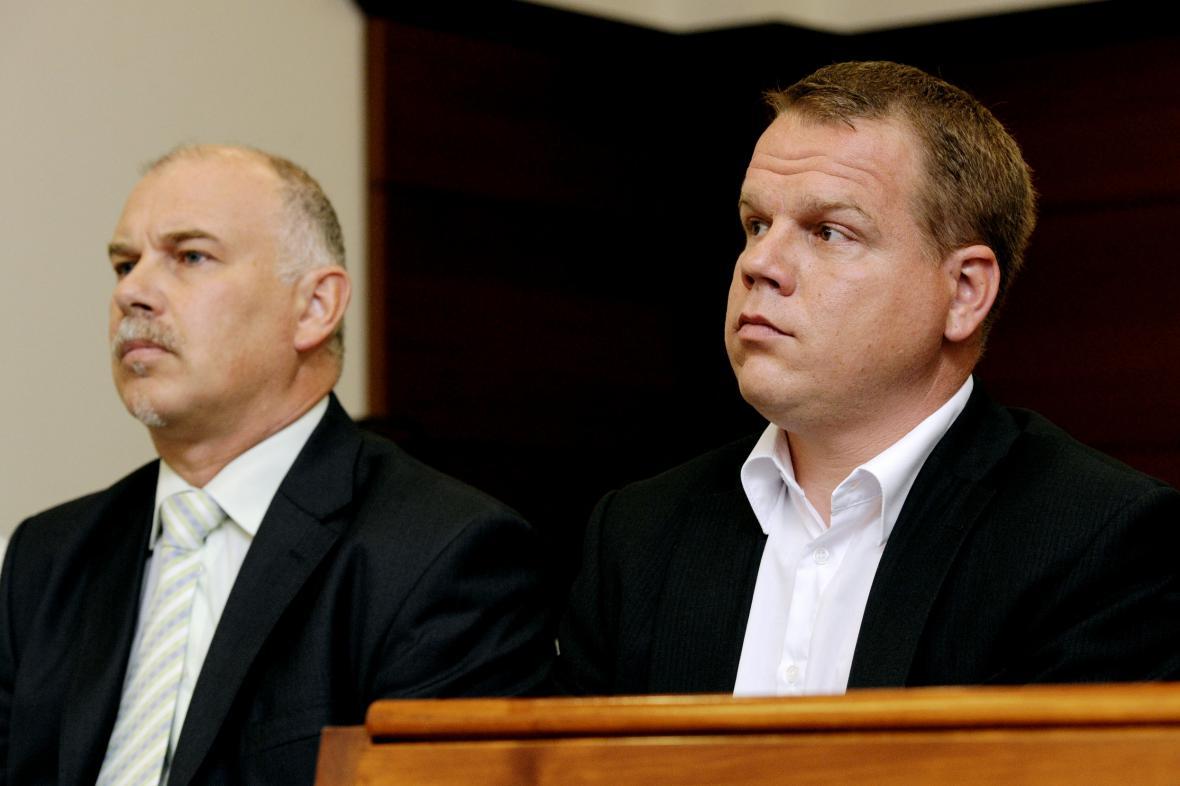 Zdeněk Bursa a Pavel Petráček (zleva)