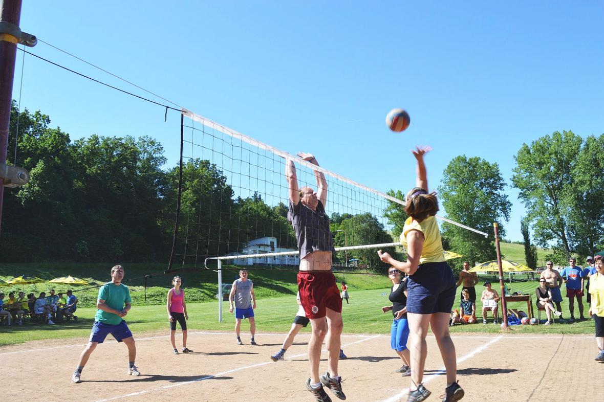 Volejbalový turnaj ve Skalici nad Svitavou