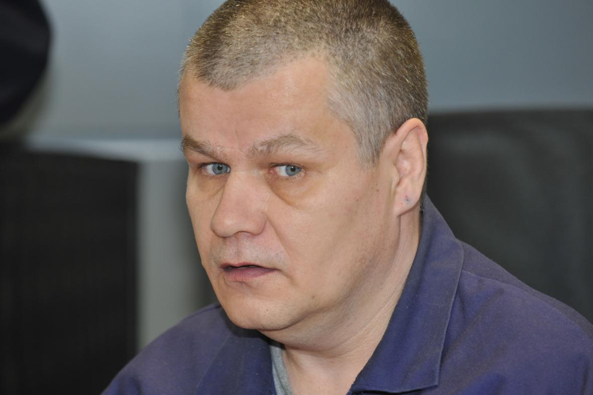 Obžalovaný Jiří Feldmann