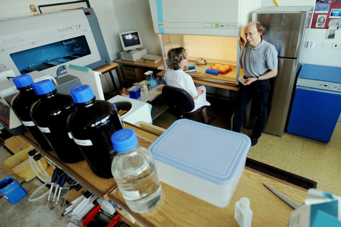 Nové oddělení českobudějovického biologického centra