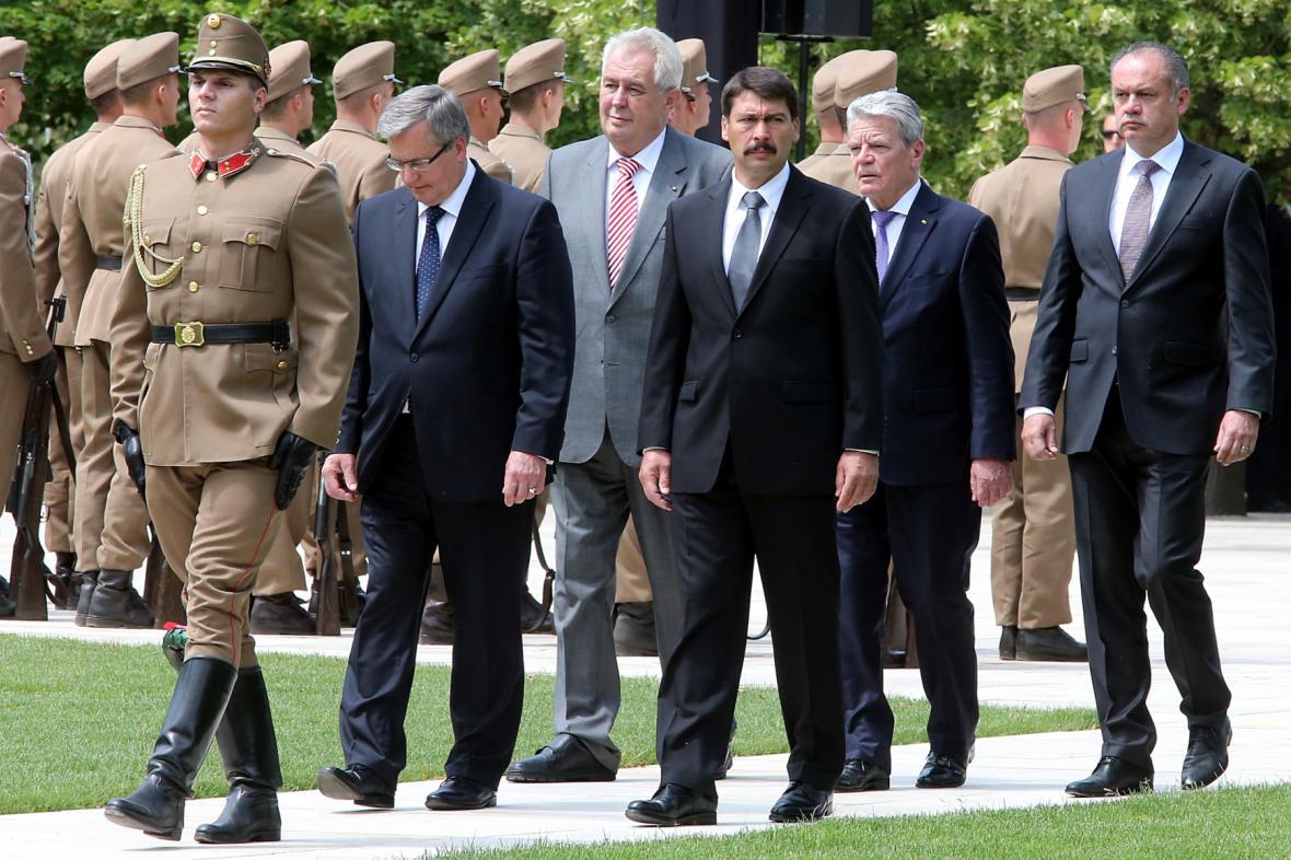 Prezidenti několika států si připomněli výročí pohřbu Imreho Nagye