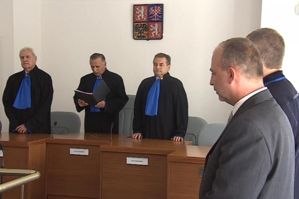 Jiří Pešek před soudem