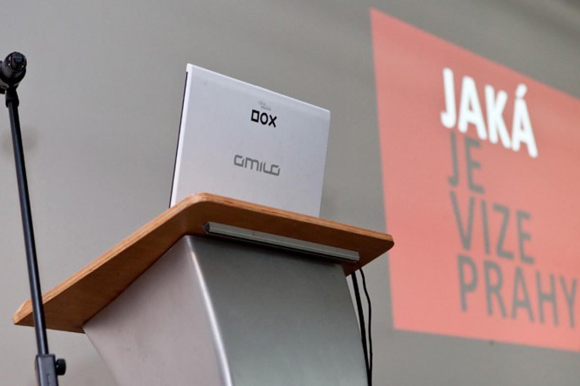 Cyklus veřejných diskusí v DOX - Jaká je vize Prahy