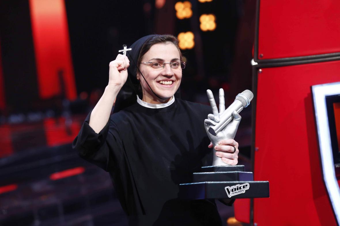 Cristina Scucciová zvítězila v italské verzi soutěže The Voice
