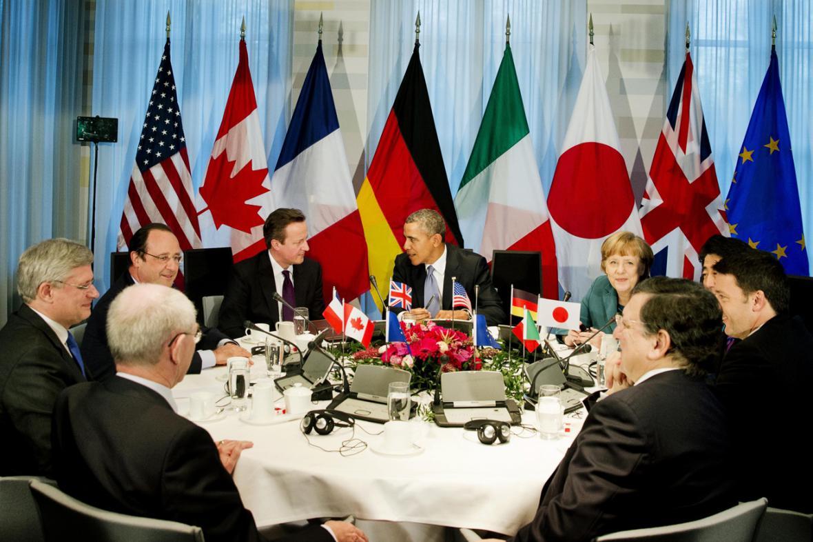 Haagská schůzka lídrů skupiny G7