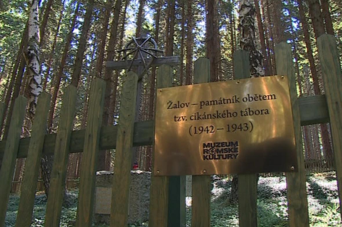 Žalovský památník obětem tzv. cikánského tábora