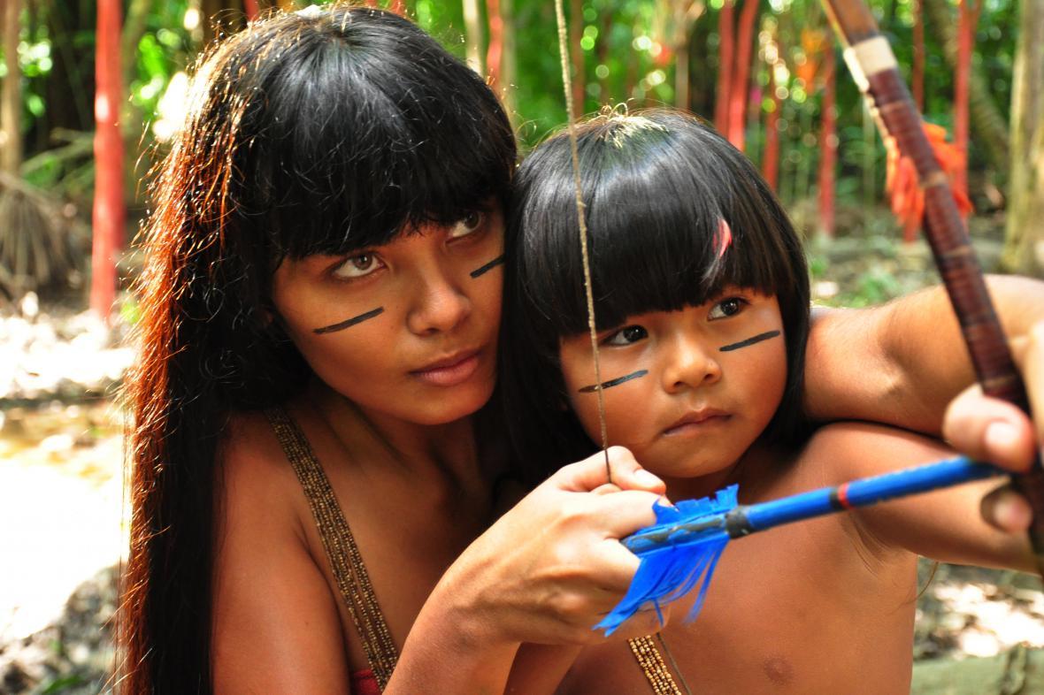 Ukázka z filmu Taina a Amazonská legenda