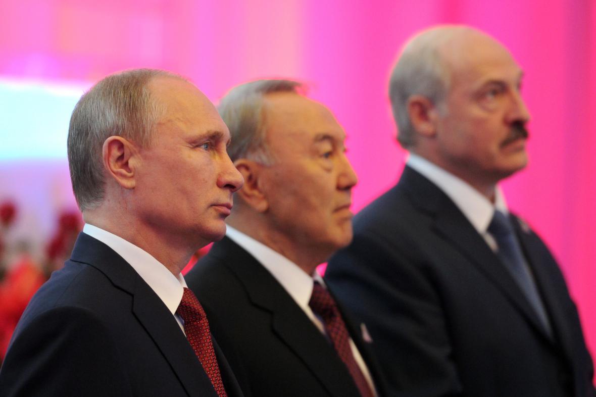Prezidenti Ruska, Kazachstánu a Běloruska