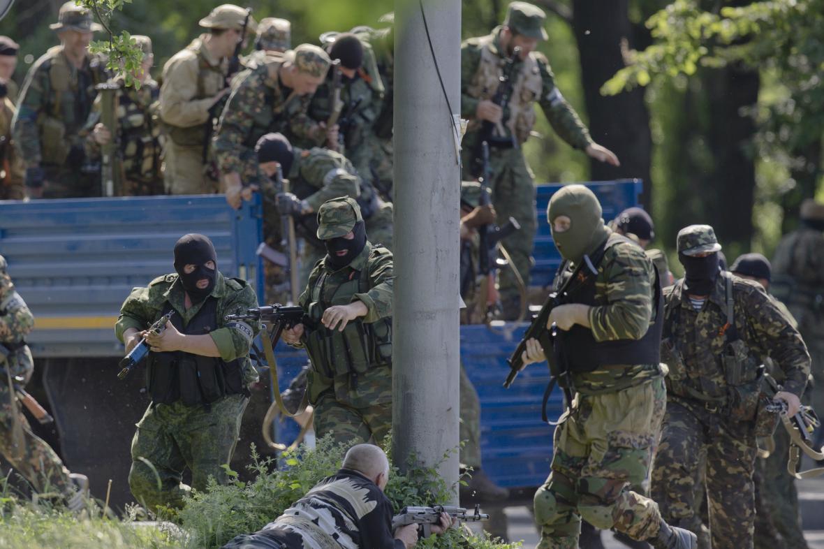 Ozbrojenci u Doněcku