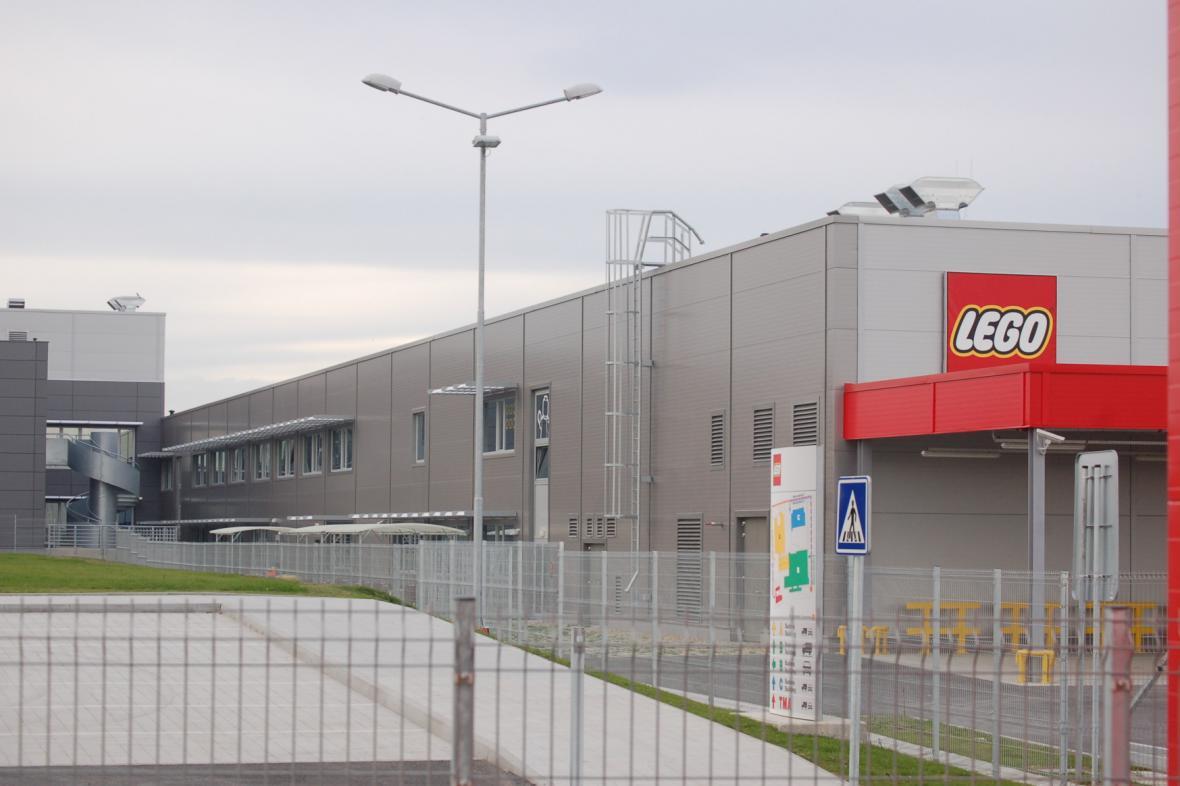 Továrna Lego v Kladně