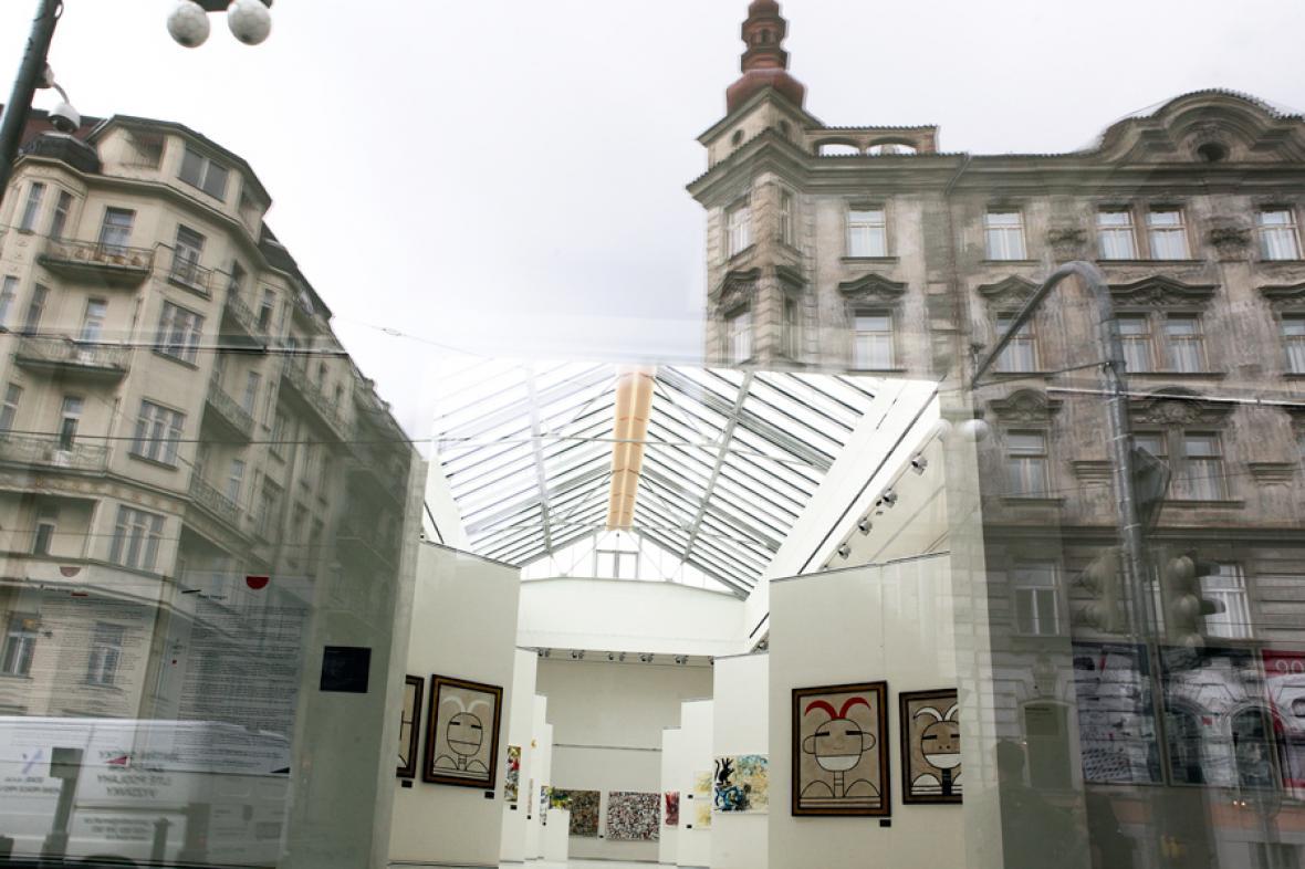 Výstavní síň Mánes po rekonstrukci