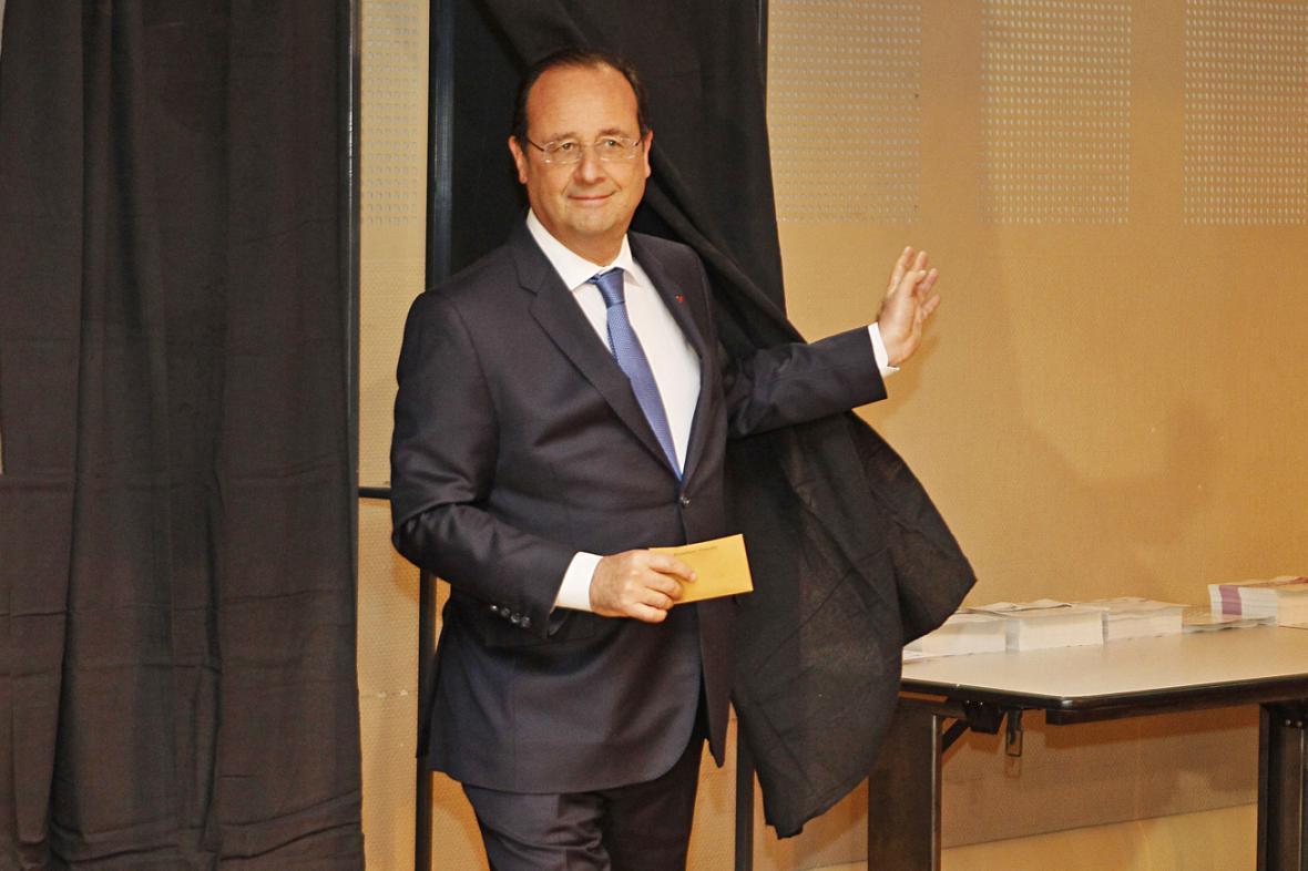 François Hollande u eurovoleb