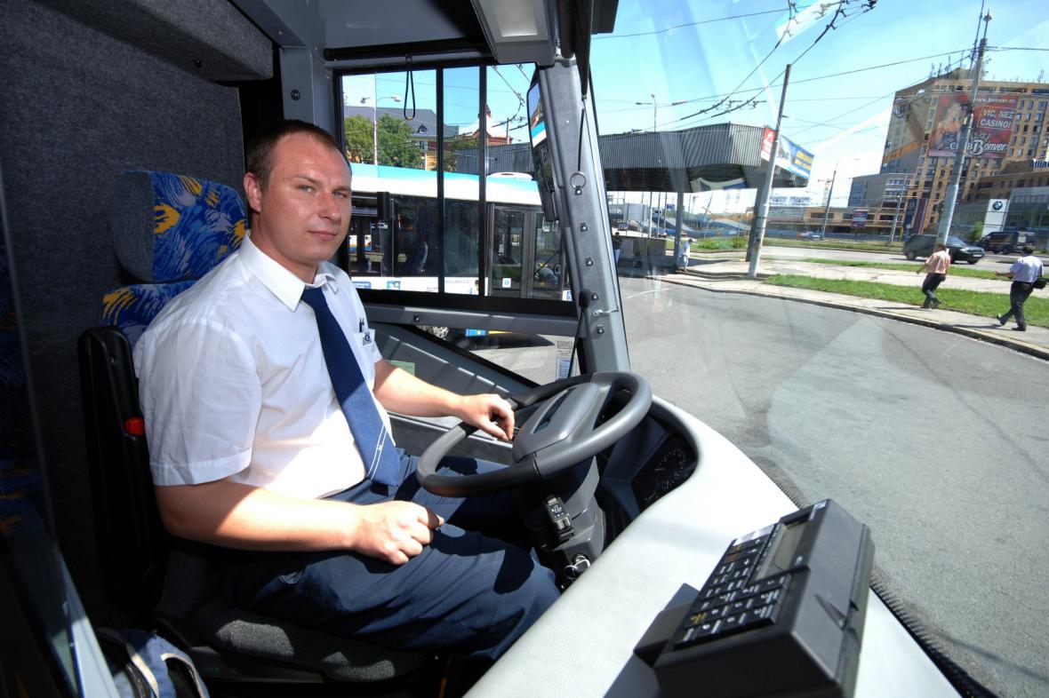 Elektrobus v ostravské MHD