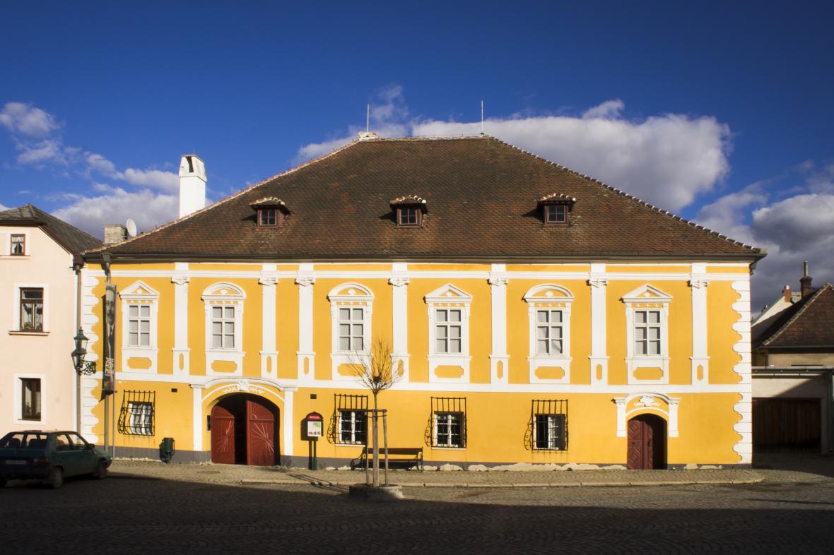 Rodný dům Josefa Hoffmanna v Brtnici